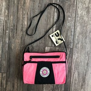 Vintage Pacific Connections neon 80's crossbody